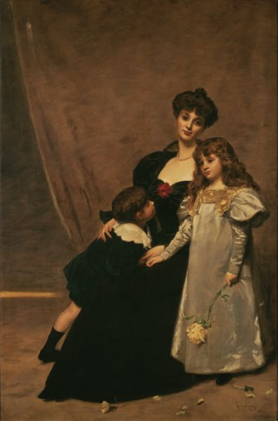 Carolos-Duran_Mother_and_Children