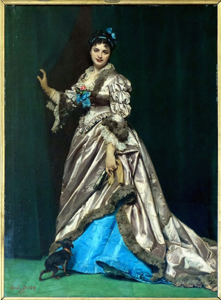 Images of Georges mother Madame Ernest Feydeau / Madame Henri Fouquier.