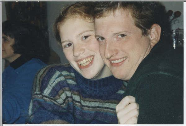 PETER ANTON KLEIN WITH SISTER DIANA