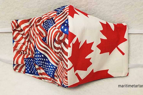 USA / CANADA Print Face Mask - ALLOW UP TO 10 BUSINESS DAYS FOR SHIPPING