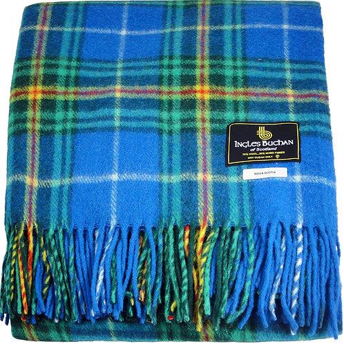 Ingles Buchan Tartan Wool Throw (Provincial)