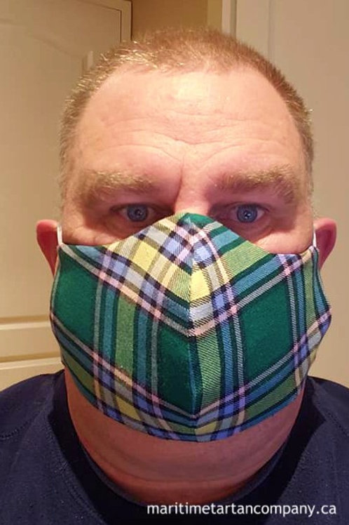 Alberta Tartan Face Mask - ALLOW UP TO 10 BUSINESS DAYS FOR SHIPPING