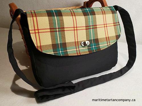 Saskatchewan Tartan Messenger Bag