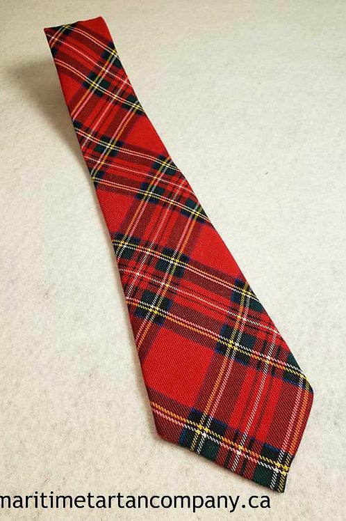 Royal Stewart Tartan Tie (Adult)