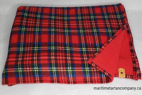 Campfire Blanket - 2 Layered Royal Stewart