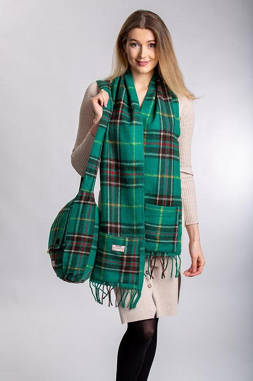 Newfoundland Tartan Wool Pocket Scarf