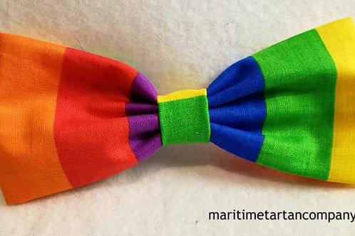Pride Clip On Bow Tie
