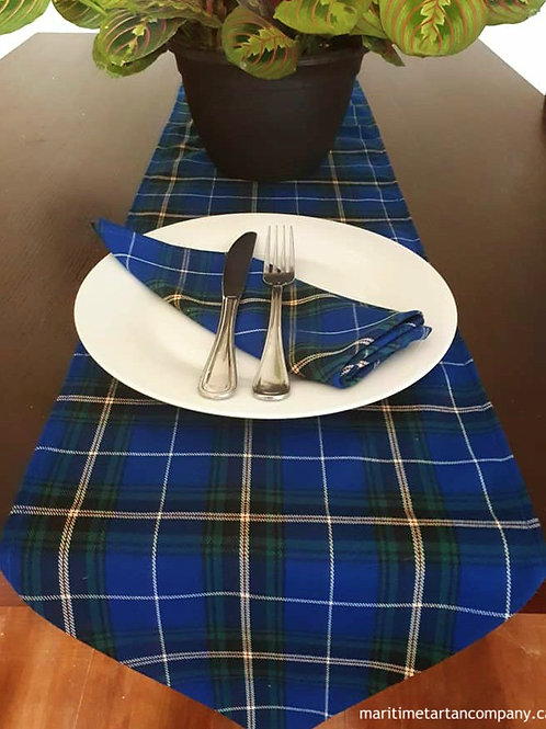 5 foot Runner Sets w / 6 napkins (All provincial tartans available)