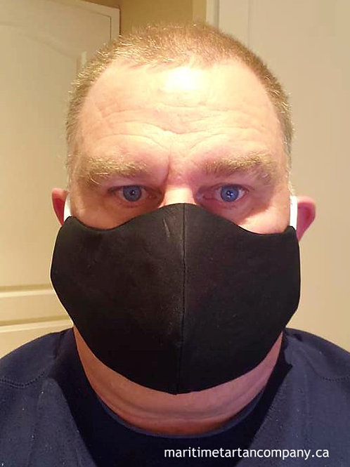 Black or Navy Cotton Face Mask  PLEASE ALLOW UP TO 10 BUSINESS DAYS FOR SHIPPING