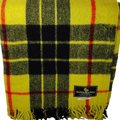 Family Tartan Wool Blankets