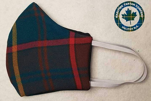 Ontario Tartan Face Mask - ALLOW UP TO 10 BUSINESS DAYS FOR SHIPPING