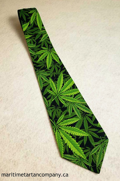 Cannabis Leaf Tie (Adult)