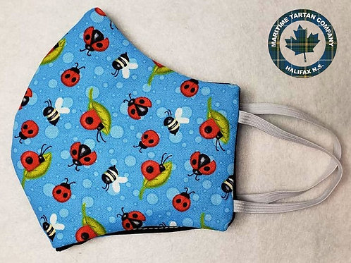 Bug Print Face Mask - ALLOW UP TO 10 BUSINESS DAYS FOR SHIPPING