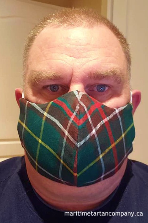 Newfoundland Tartan Face Mask - ALLOW UP TO 10 BUSINESS DAYS FOR SHIPPING