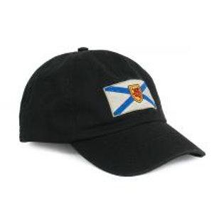Nova Scotia Retro Flag Black Hat