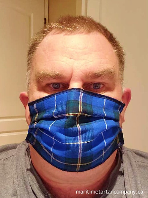 Nova Scotia Tartan Face Mask - ALLOW UP TO 10 BUSINESS DAYS FOR SHIPPING