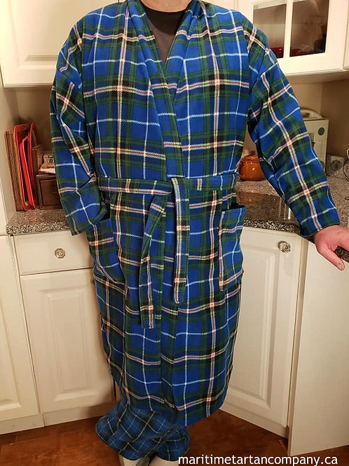 Nova Scotia Tartan Fleece Robe