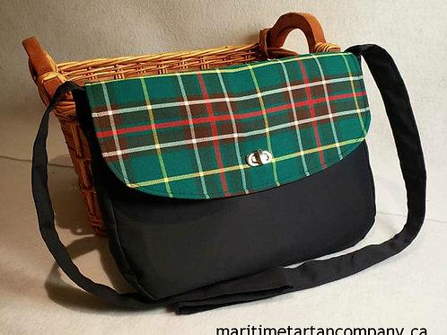 Newfoundland Tartan Messenger Bag