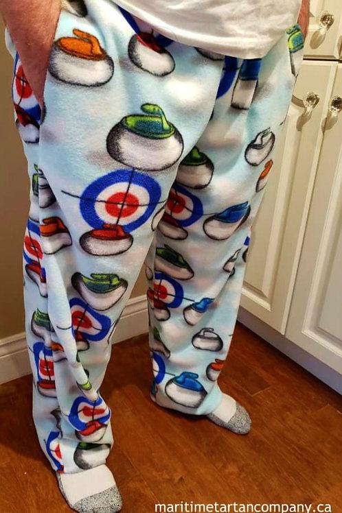 Fleece Curling PJ Pants
