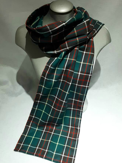 Newfoundland Tartan 6 foot light scarf