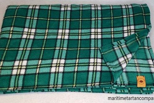 Cape Breton Tartan Fleece Throw