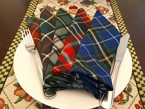 Napkins (All provincial tartans available)