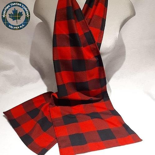 Buffalo Check 6 Foot light scarf