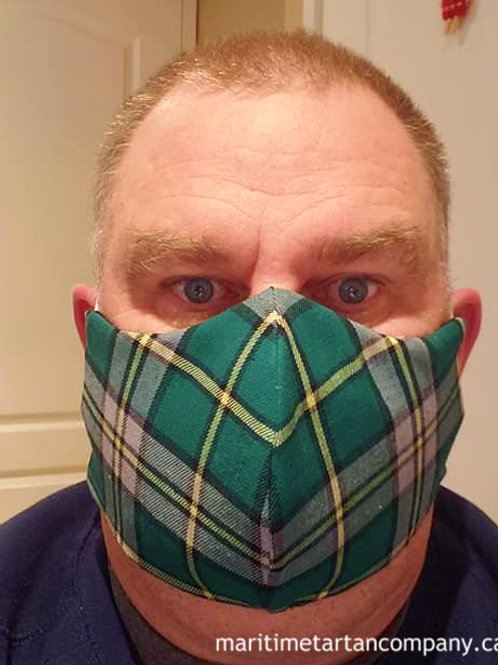 Cape Breton Tartan Face Mask - ALLOW UP TO 10 BUSINESS DAYS FOR SHIPPING