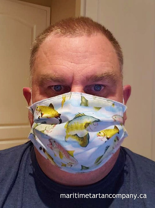 sport Fishing Face Mask - ALLOW UP TO 10 BUSINESS DAYS FOR SHIPPING