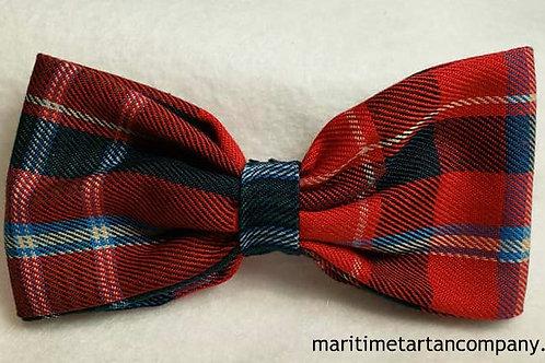 New Brunswick Tartan Clip On Bow Tie (Adult)