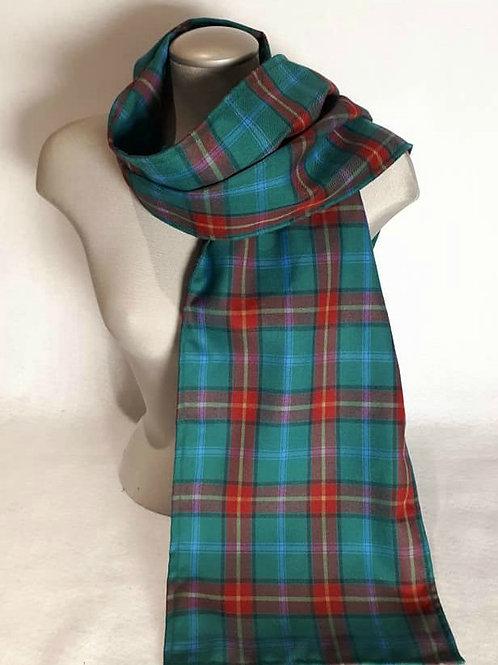 Manitoba Tartan 6 foot light scarf