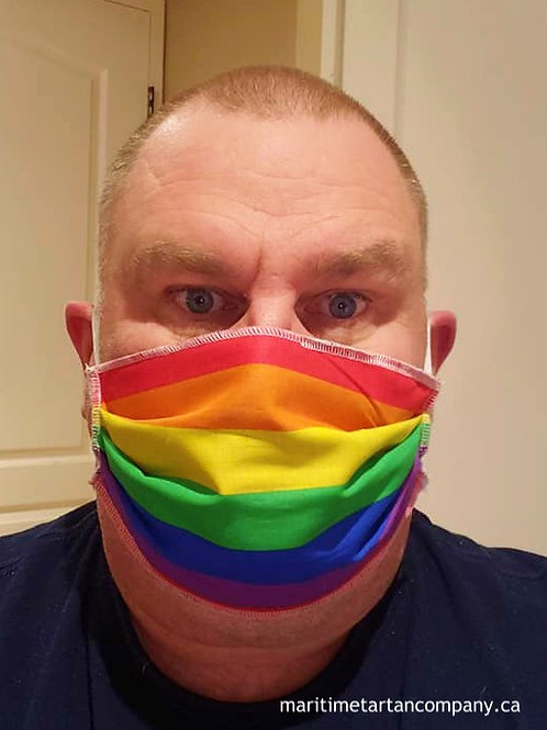 Pride Face Mask - ALLOW UP TO 10 BUSINESS DAYS FOR CREATION AND SHIPPING
