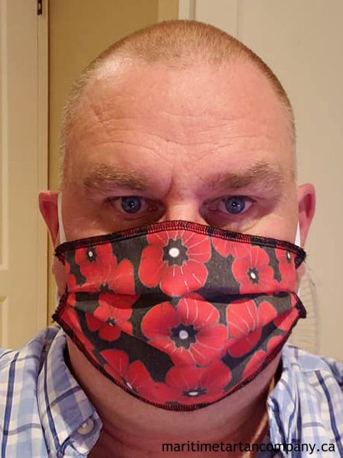Poppy Mask - PLEASE ALLOW UP TO 12 BUSINESS DAYS FOR SHIPPING