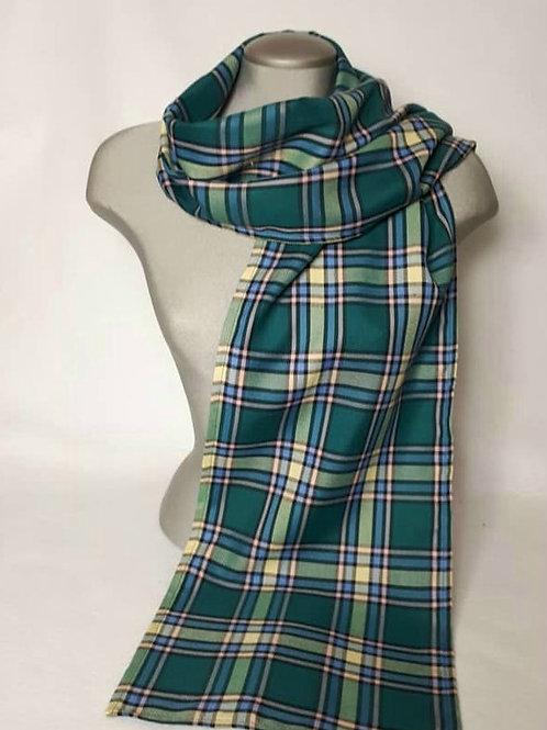 Alberta Tartan 6 foot light scarf