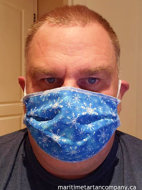 Snowflake Face Mask - ALLOW UP TO 1-BUSINESS DAYS FOR SHIPPING