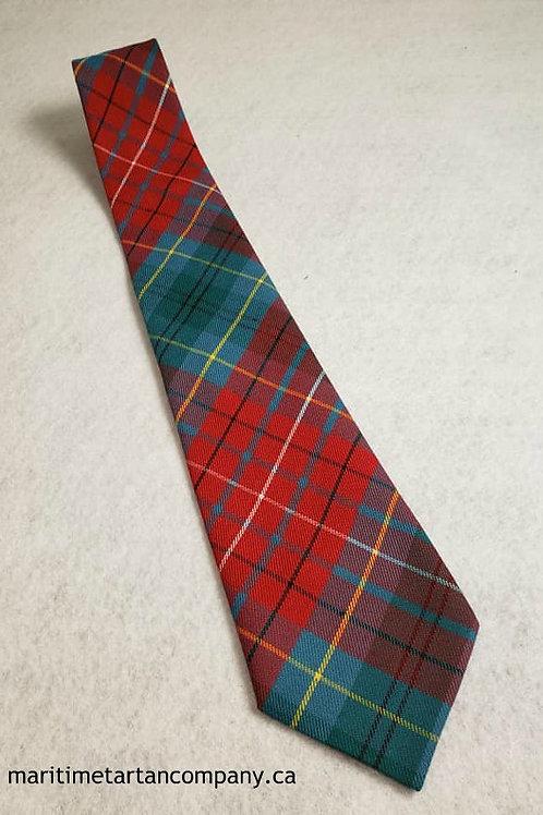 British Columbia Tartan Tie (Adult)