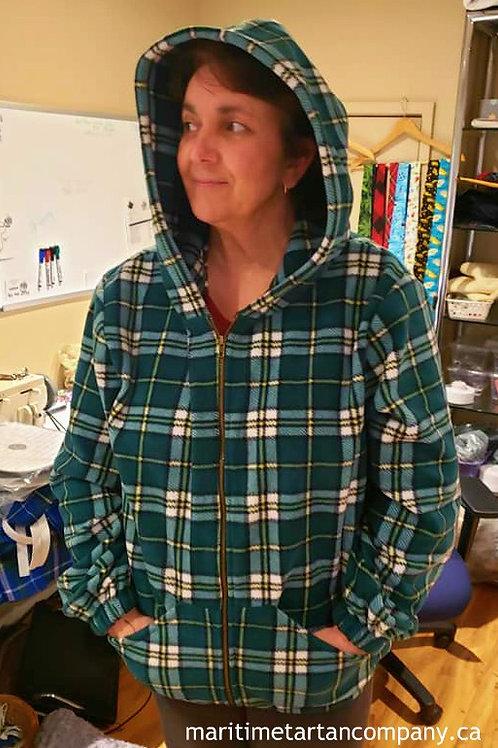 Cape Breton Tartan Fleece Hoodie
