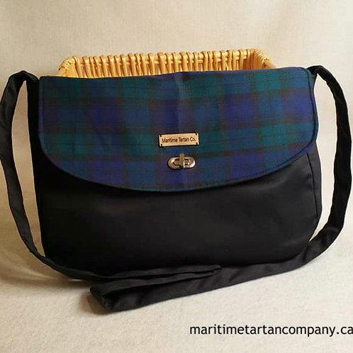 Blackwatch Tartan Messenger Bag