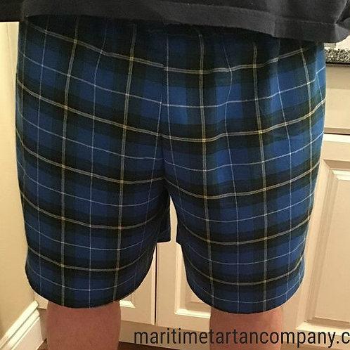 Nova Scotia Tartan Cotton Shorts