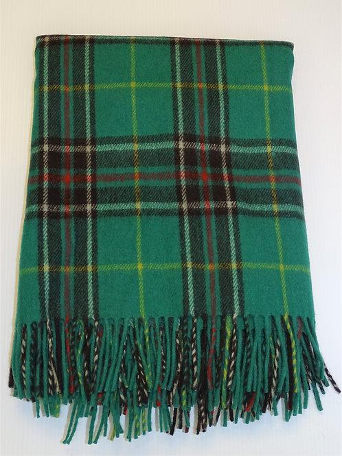 Newfoundland Tartan Deluxe Merino Wool Blanket