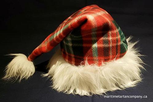 New Brunswick Tartan Christmas Hat