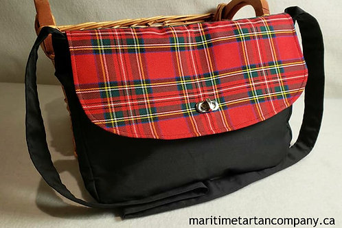 Royal Stewart Tartan Messenger Bag