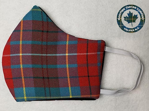 BC Tartan Face Mask - ALLOW UP TO 10 BUSINESS DAYS FOR SHIPPING