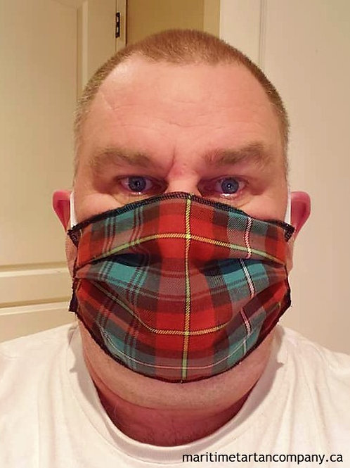 PEI Tartan Face Mask -  ALLOW UP TO 10 BUSINESS DAYS FOR SHIPPING