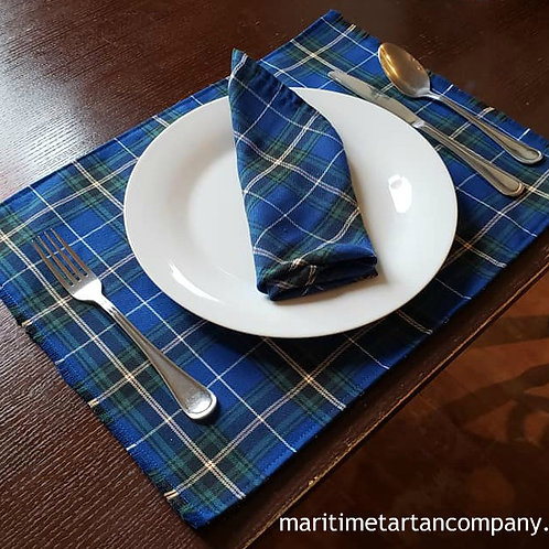 Tartan Placemats.      They measure (13in x 18in)