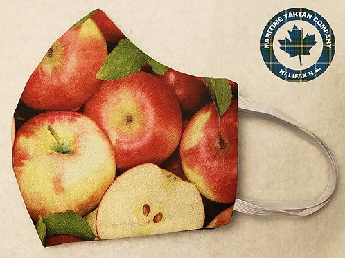 Apple Print Face Mask - ALLOW UP TO 10 BUSINESS DAYS FOR SHIPPING
