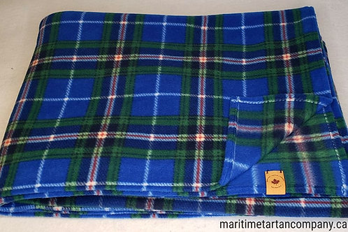 Nova Scotia Tartan Fleece Throw