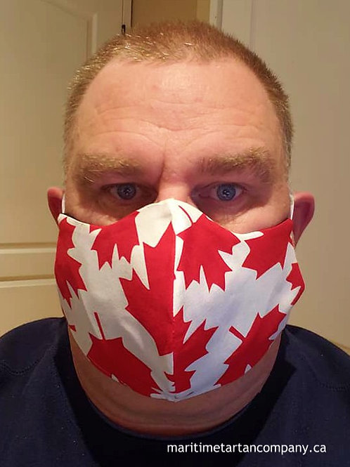 Canada Maple Leafs Face Mask - ALLOW UP TO 10 BUSINESS DAYS FOR SHIPPING