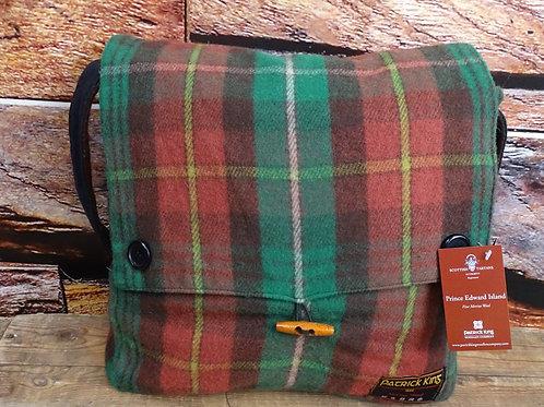PEI Tartan Merino Wool Keri Messenger Bag