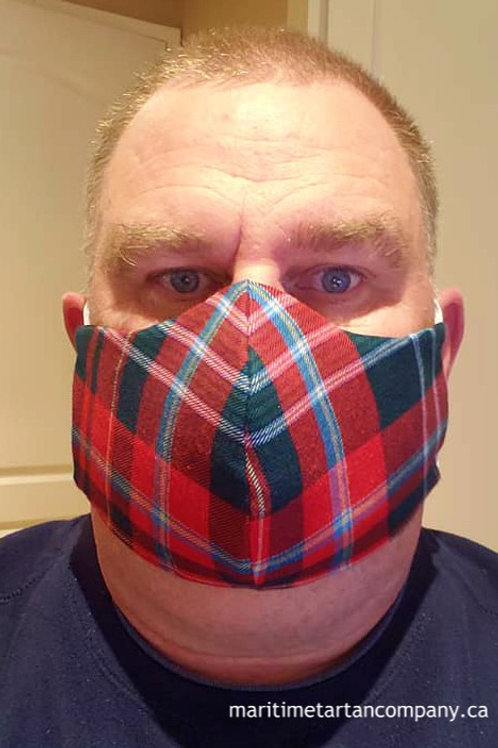 New Brunswick Tartan Face Mask - ALLOW UP TO 10 BUSINESS DAYS FOR SHIPPING